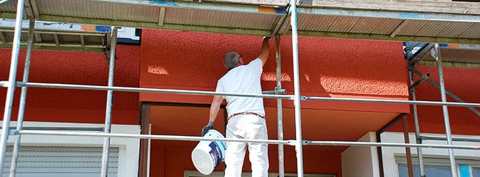 Peinture extérieure à Roussillon